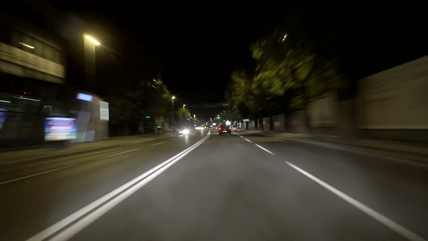 Car driving time lapse | Shutterstock HD Video #3659900