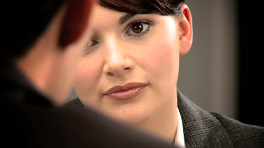 Young person attending a business interview