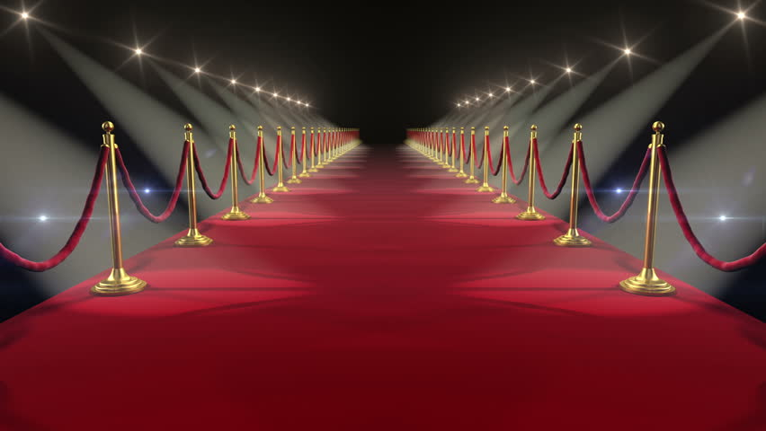 Red Carpet. Looped animation. HD 1080. #3671588