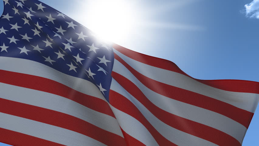 United States Flag Waving Closeup. Stock Footage Video (100% Royalty-free) 3672569  Shutterstock