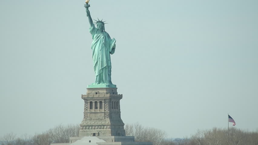 Statue of Liberty in New York City | Shutterstock HD Video #3676616