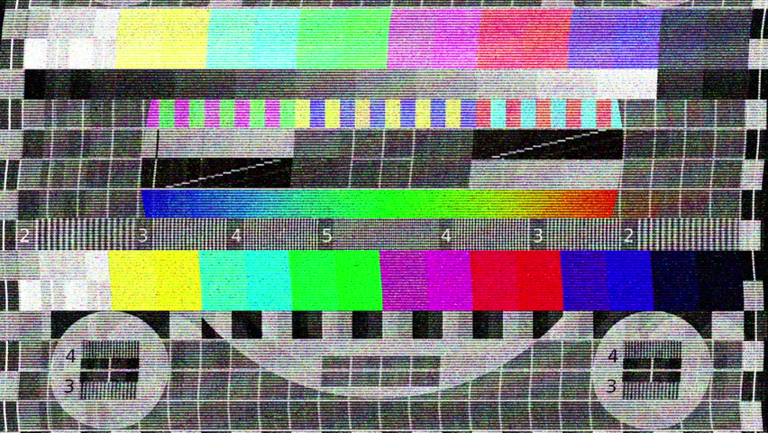 HDTV Noise turning on - off | Shutterstock HD Video #3679538