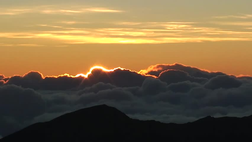 Sunrise above the clouds at haleakala hawaii stock footage video sunrise above the clouds at haleakala hawaii stock footage video 3698138 shutterstock publicscrutiny Image collections