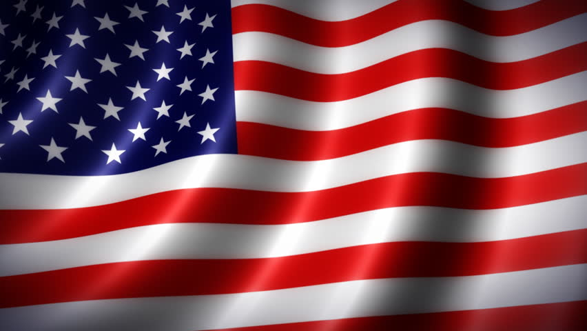American Flag Stock Footage Video  100  Royalty