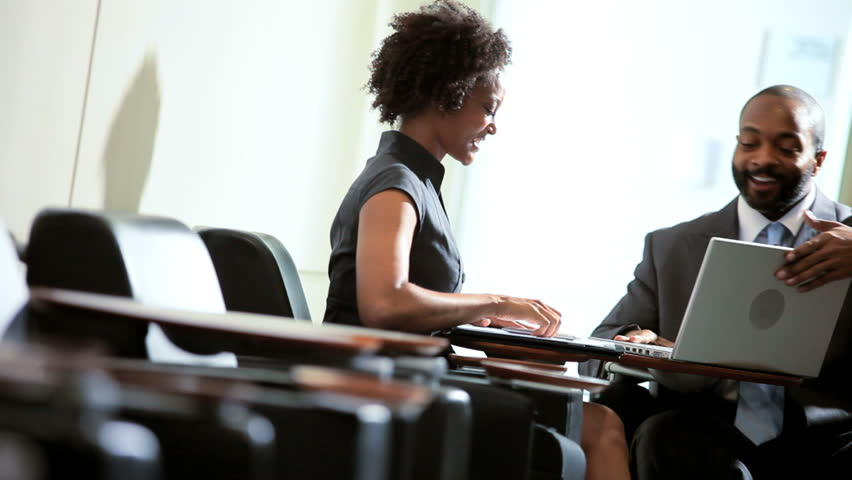 African American Business Colleagues Working Stock Footage Video ...