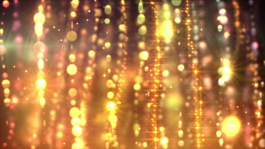 Glamorous golden curtains loop   Shutterstock HD Video #3813275