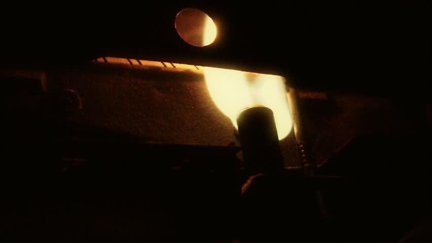 Blazing flame of Pilot light   Shutterstock HD Video #3819758