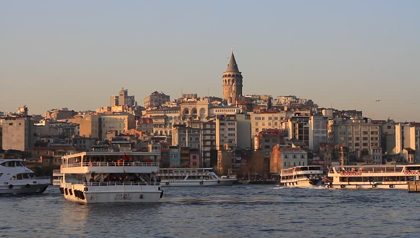 Galata Tower, Karakoy Pier