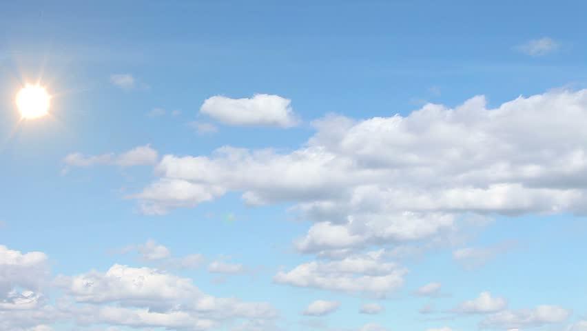 Clouds, sky,sun. | Shutterstock HD Video #3840053