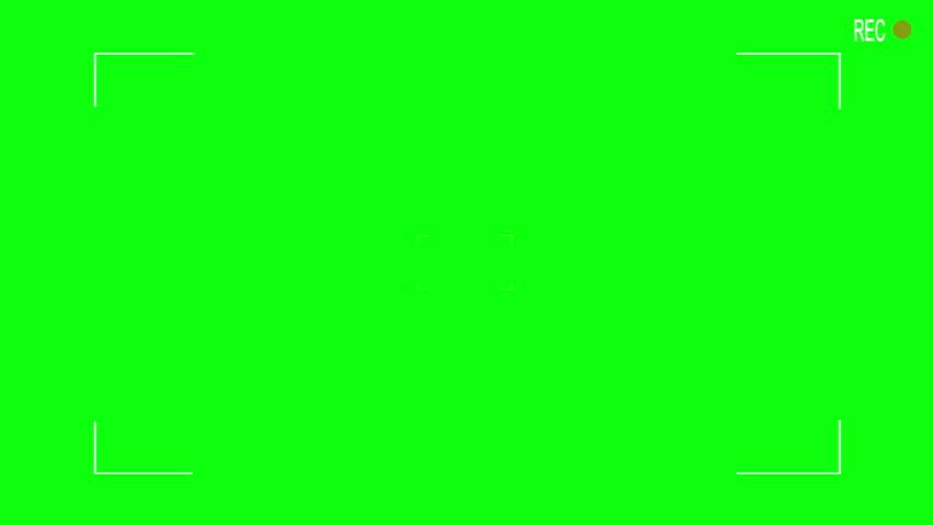 Camera viewfinder  CG 1080p video green screen   Shutterstock HD Video #3877496