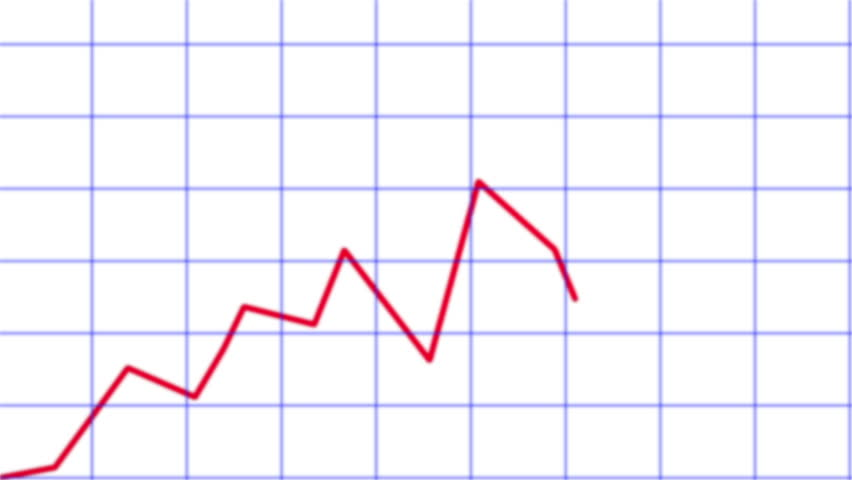 Line chart ascending. Animated line graph    Shutterstock HD Video #3879323