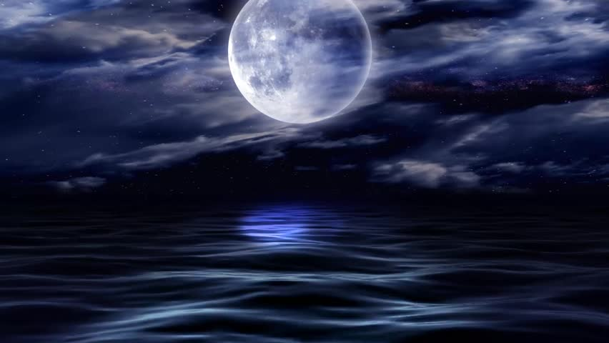 Moon on water #3884840