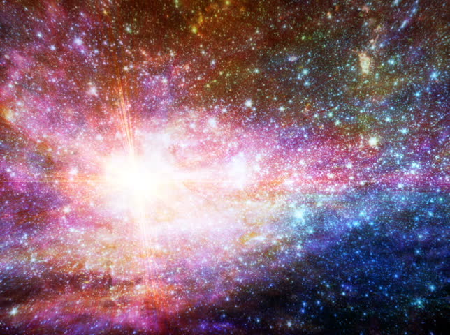 Abstract Starburst Galaxy Loop | Shutterstock HD Video #3893714