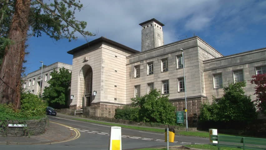 The art deco Newport Civic Centre.