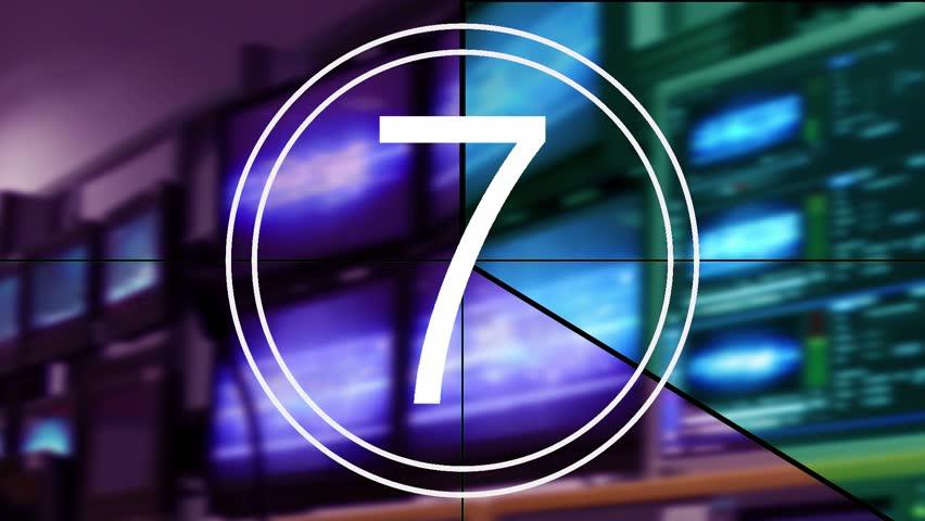 Universal Countdown Clock | Shutterstock HD Video #3905000