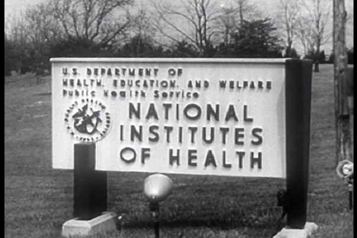 1950s - The National Institute of Health researches polio in 1956.