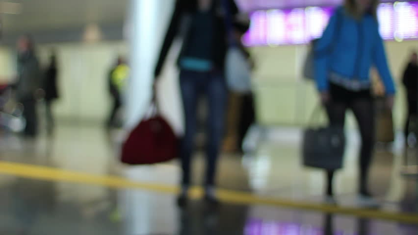 Airport terminal meeting zone