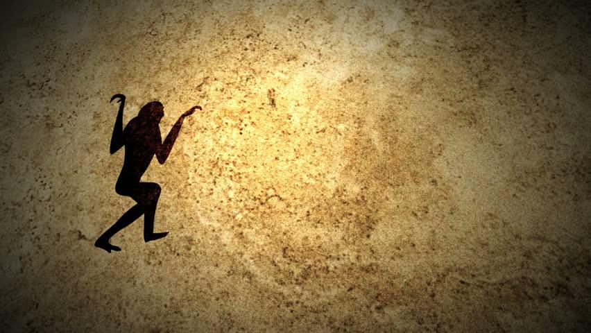 Human evolution scene. | Shutterstock HD Video #3934895