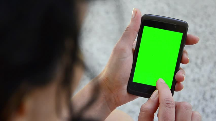 Business woman using a Smart phone Touchscreen CHROMA KEY- Close-up , Fingers make gestures touching and swiping the screen of a modern smartphone.  | Shutterstock HD Video #3936941