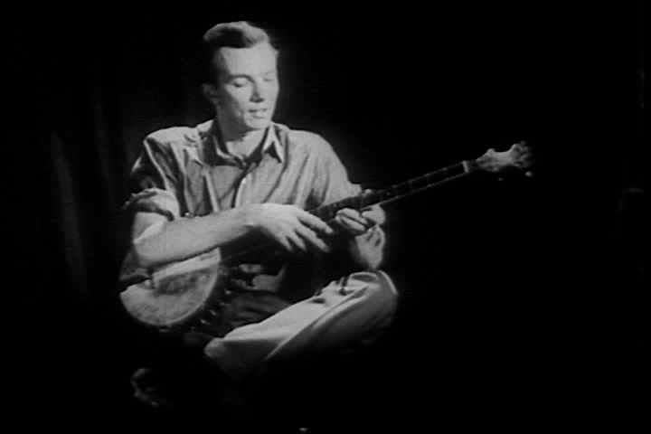 1940s - Pete Seeger narrates this documentary in 1946 about the Blue Hills farmers and folk traditions.