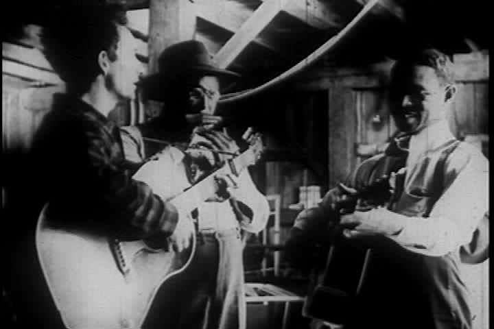 1940s - Pete Seeger narrates this documentary in 1946 about the deep South and folk traditions there and of freight trains and railroads.