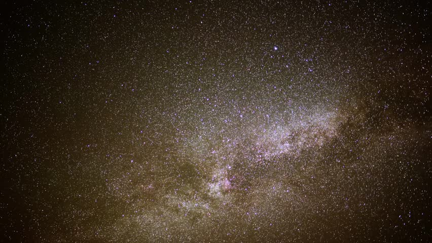 Astrophotography Time Lapse Milky Way Galaxy