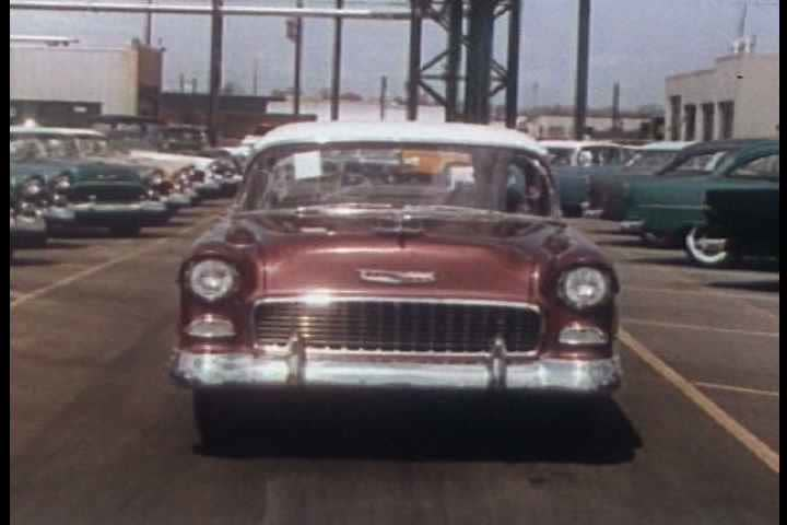 1950s - Chevrolet cars and factories spur economic growth and are everywhere in the 1950s. #3993613