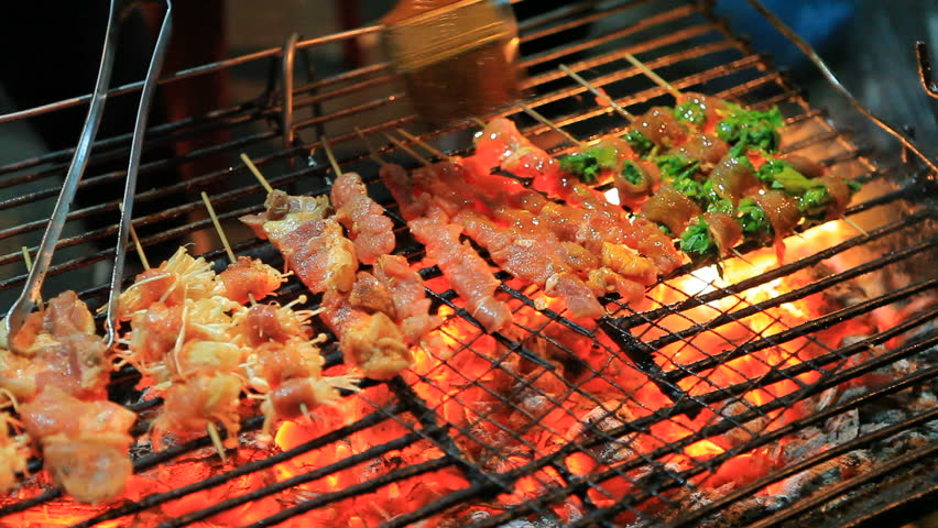 Barbecue,smoke   Shutterstock HD Video #4002073
