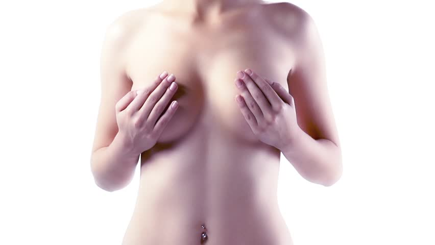 Topless Woman - Super Slow Motion
