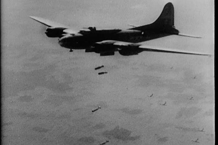 1940s - Post-WWII film depicting the value of the Air Force in Allied victory.