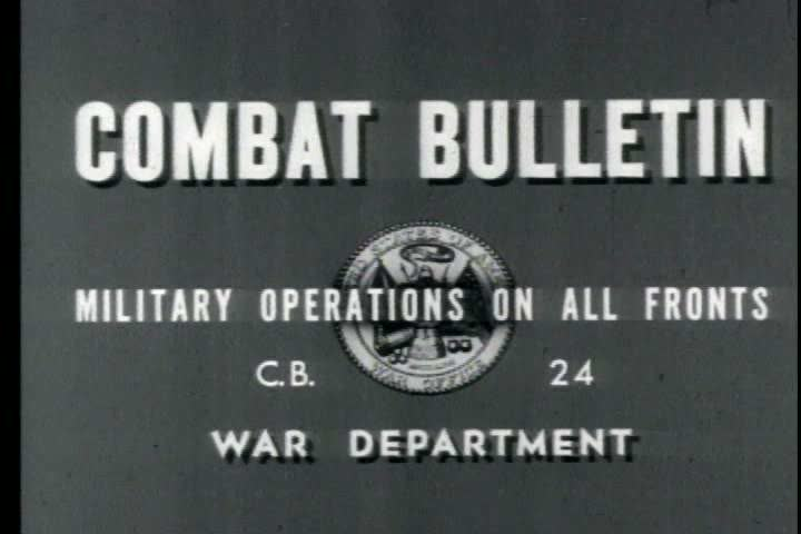 1940s - Combat Bulletin No. 24: Channel Coast Activities; Ordnance Repairs; German Frontier Operations; Airborne Operations; Toulon Harbor Installations   Shutterstock HD Video #4026178