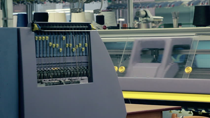Machine at Textile Factorytextile Industrymachinery Stock Footage Video  (100% Royalty-free) 4041952 | Shutterstock