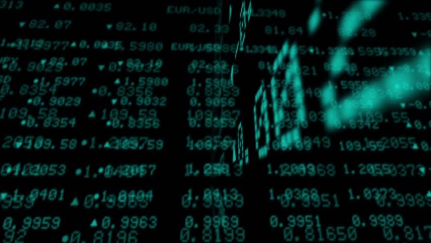 Stock Market Data Tickers Board, 3D Stock Market Animation - HD,  | Shutterstock HD Video #4056958