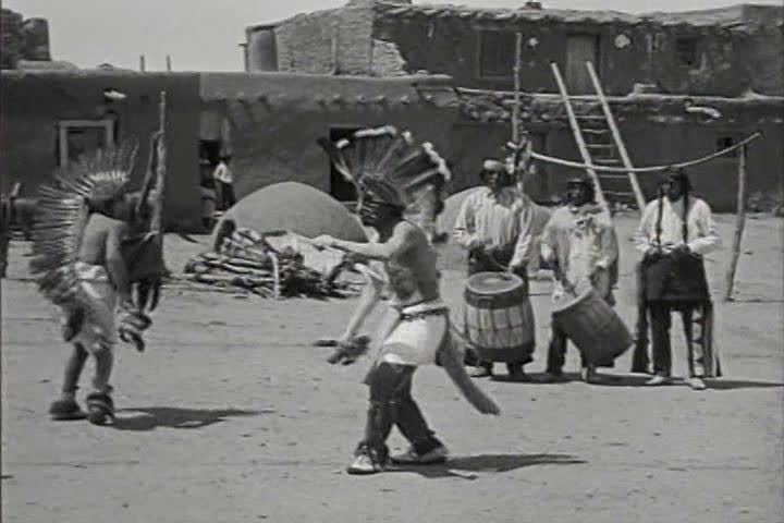 1920s - Native American Indians in New Mexico in 1920.