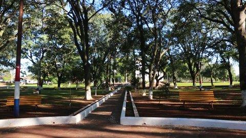 The reduction  Santa Maria de Fe in Paraguay