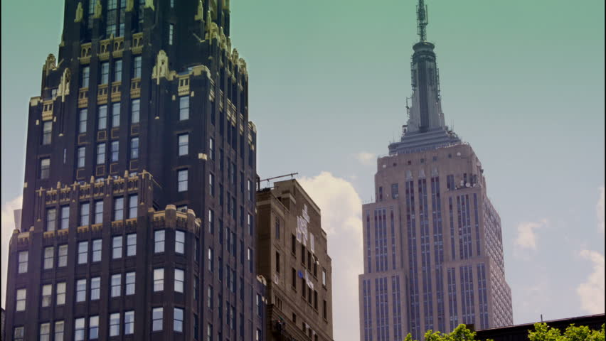 NEW YORK CITY, Circa June, 2013 - A summer time lapse of the New York City