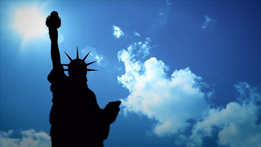 Time lapse video of statue of liberty | Shutterstock HD Video #4122229