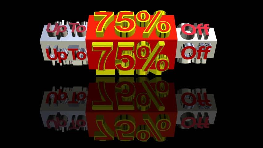Special sale discount percentage   Shutterstock HD Video #4133929