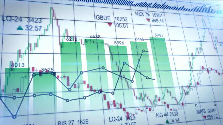 Seamlessly looping abstract animation of financial stock data   Shutterstock HD Video #4143844