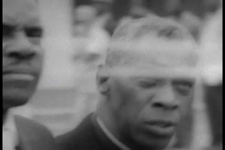 1960s - A silent film about the civil rights movement Selma-to-Montgomery march