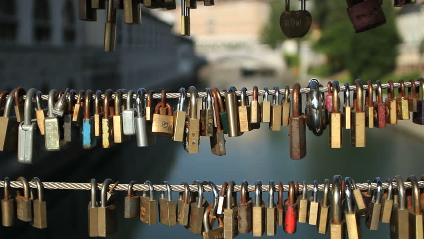 Love padlocks | Shutterstock HD Video #4155457