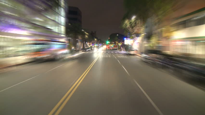 Pov Time Lapse Driving on Los Angeles Freeways - Circa 2011  | Shutterstock HD Video #4162057