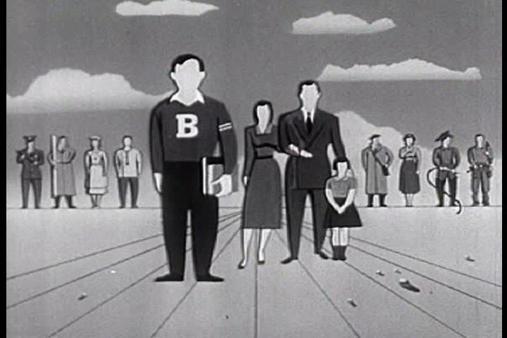1950s - 1950s educational film about how to survive an atomic blast.
