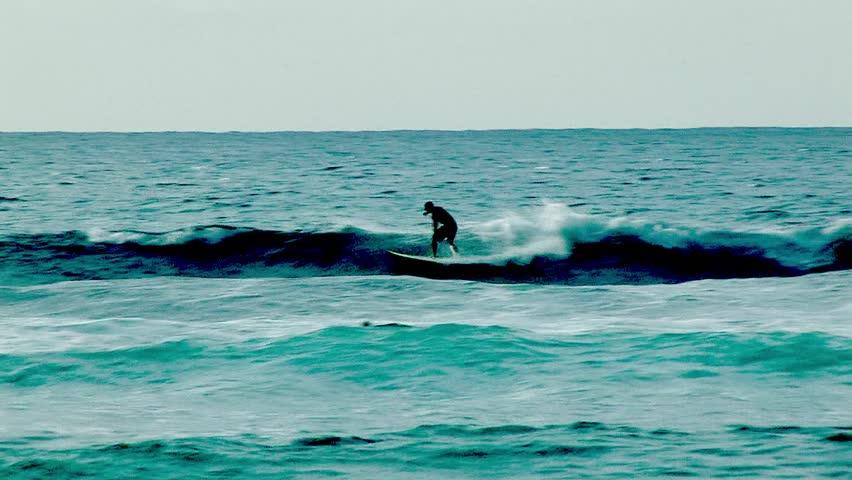 Surfing in Hawaii 2   Shutterstock HD Video #417673