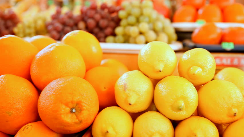 Beautiful dynamic view of healthy fruits food | Shutterstock HD Video #4189384