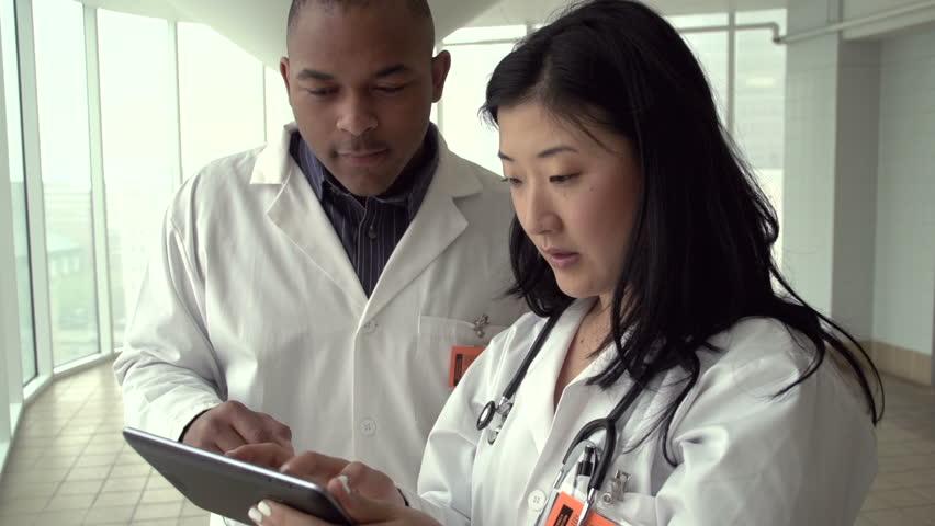Break, business, business woman, button up, colleagues, conversation, friendly,  | Shutterstock HD Video #4205674