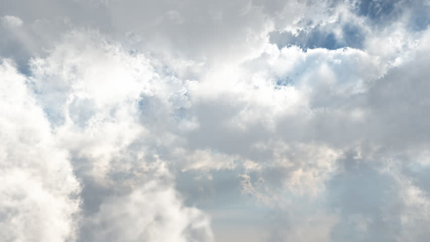Fly through the clouds in the sky | Shutterstock HD Video #4207954