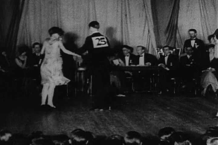 1950s - Men and women perform the Charleston in the 1950s