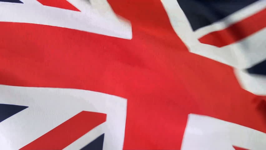 Extreme close up of Flag of England waving in the wind, shot in HD video NOT computer generated   Shutterstock HD Video #4212370