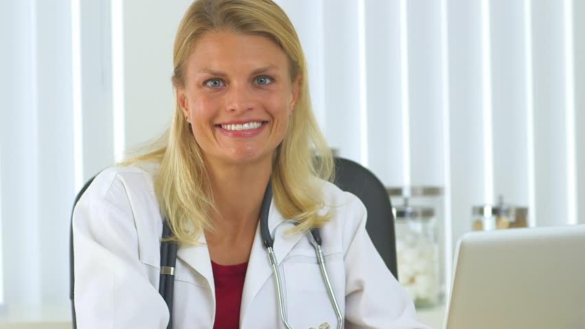 Successful woman doctor   Shutterstock HD Video #4273241